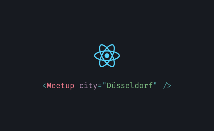 ReactJS Meetup Düsseldorf #1 - &ltHelloWorld /&gt Image